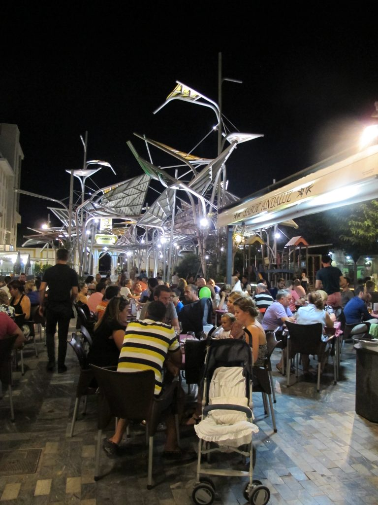 I Cartagena er det mange kunstinstallasjoner. Og mange er helt fantastiske.