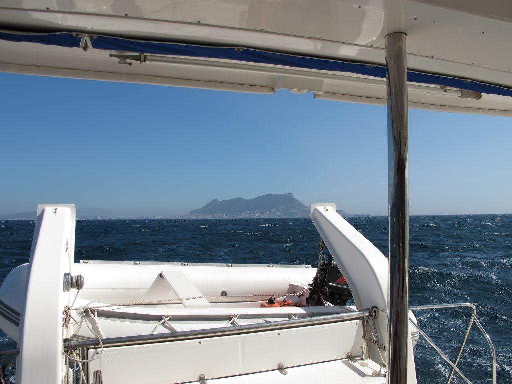 Adjø Gibraltar. Det har vært morsomt å besøke deg.