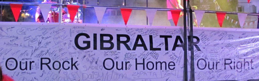 Tror ikke engelskmennene overlater Gibraltar til spanjolene med det første.
