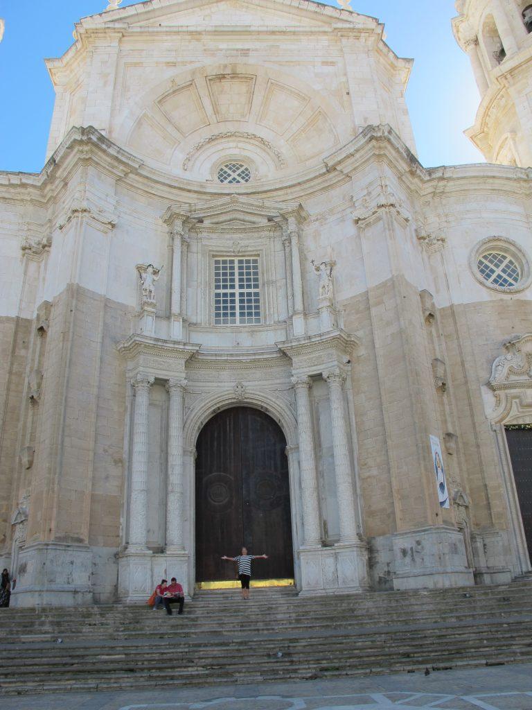 Velkommen til katedralen i Càdiz.