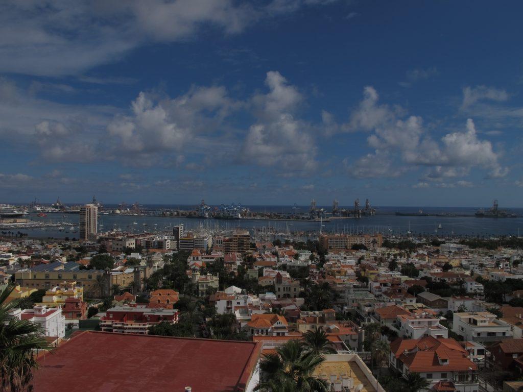 Utsikt over Las Palmas.