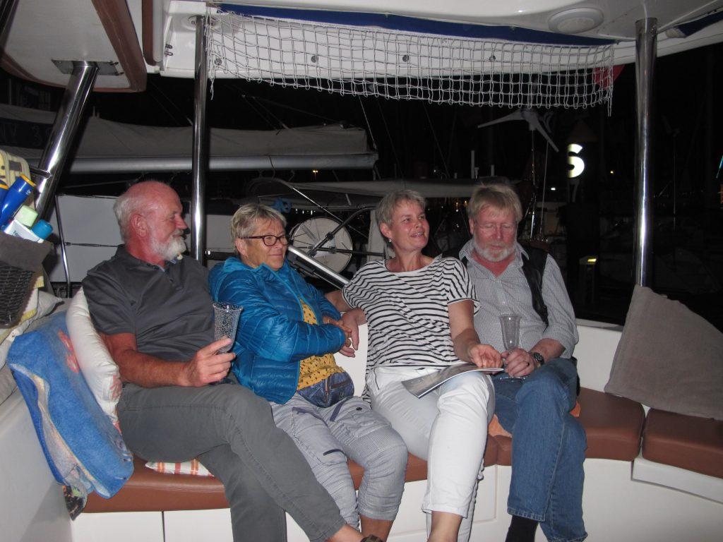 Jørn og Antje er på tur til Gran Canaria og kommer på overaskelsesbesøk til oss. De hadde med seg Per og Laila som de er på besøk hos. Veldig overraskende, og veldig hyggelig.