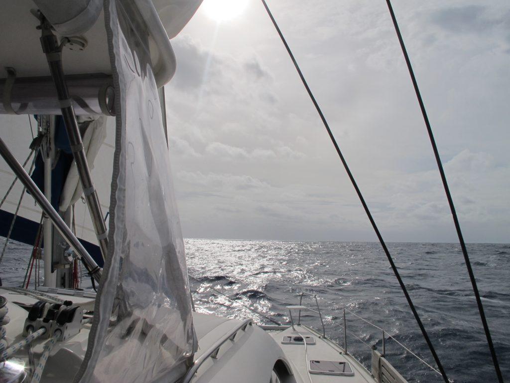Litt sol, litt regn, litt vind. Vi får alt av vær virker det som.