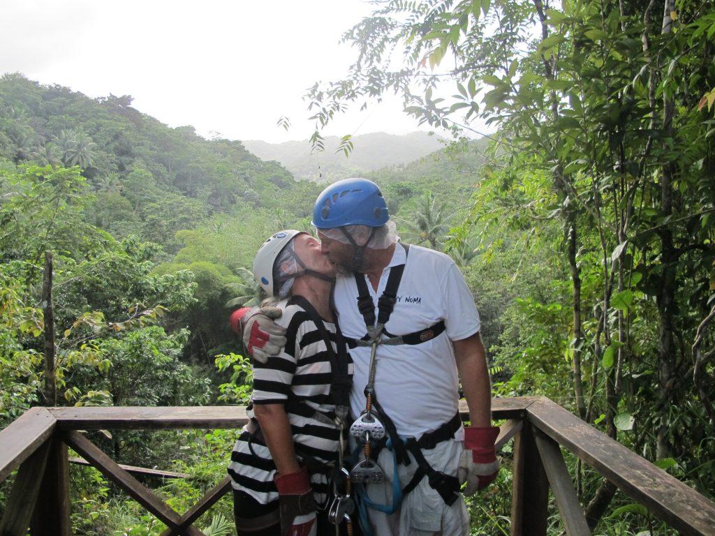Kyssebilde ble det også. Selv om PK synes det ble litt for mye kyssing :)
