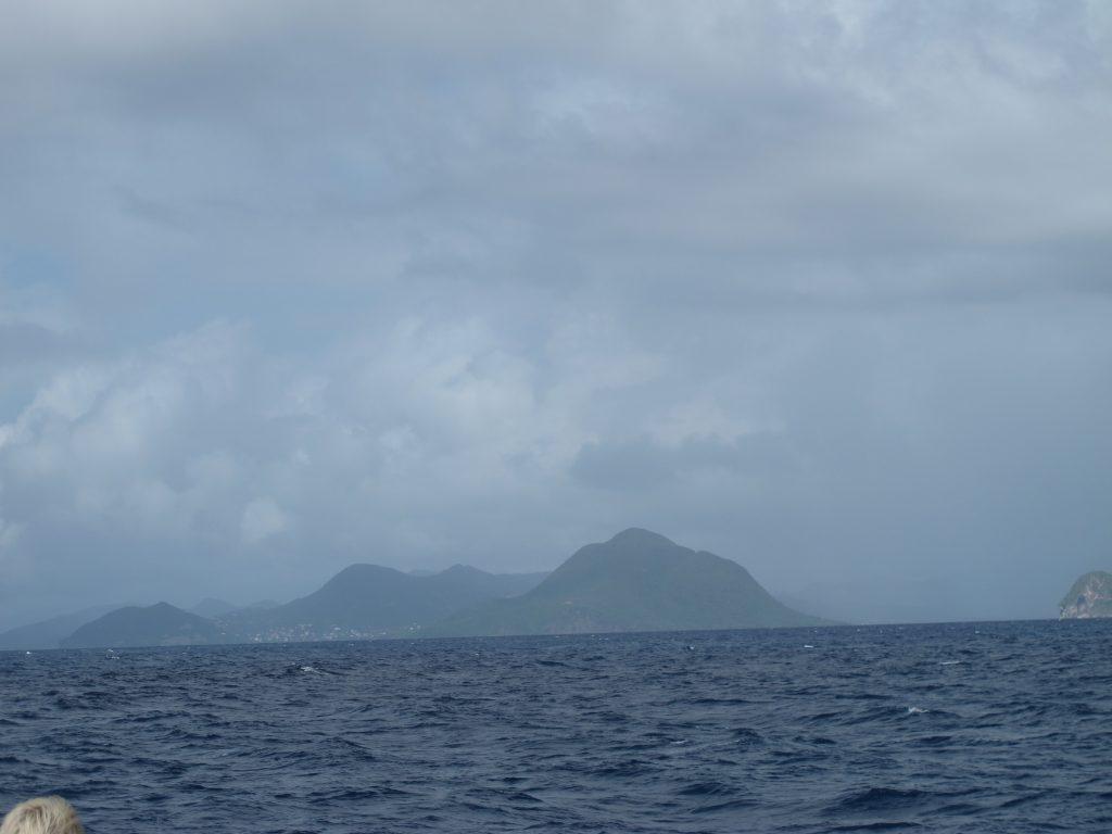 Vive la France. Martinique i det fjerne.