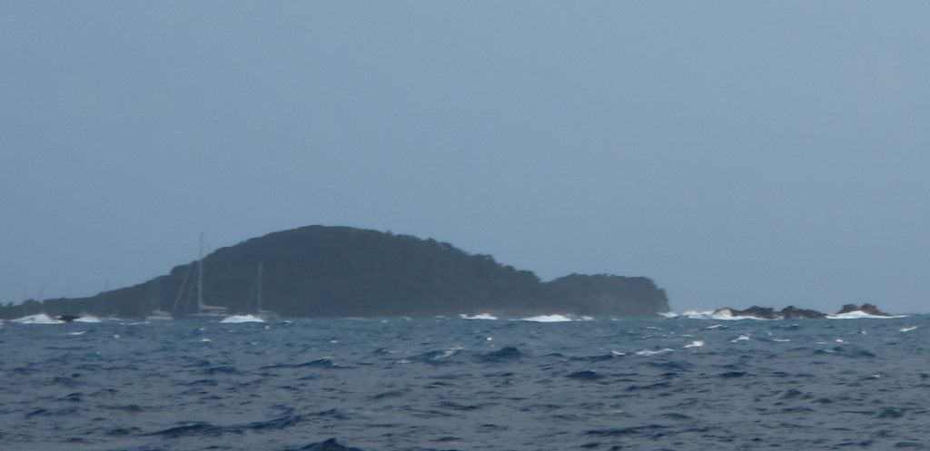 Tobago Cays med farlige rev og det hele.