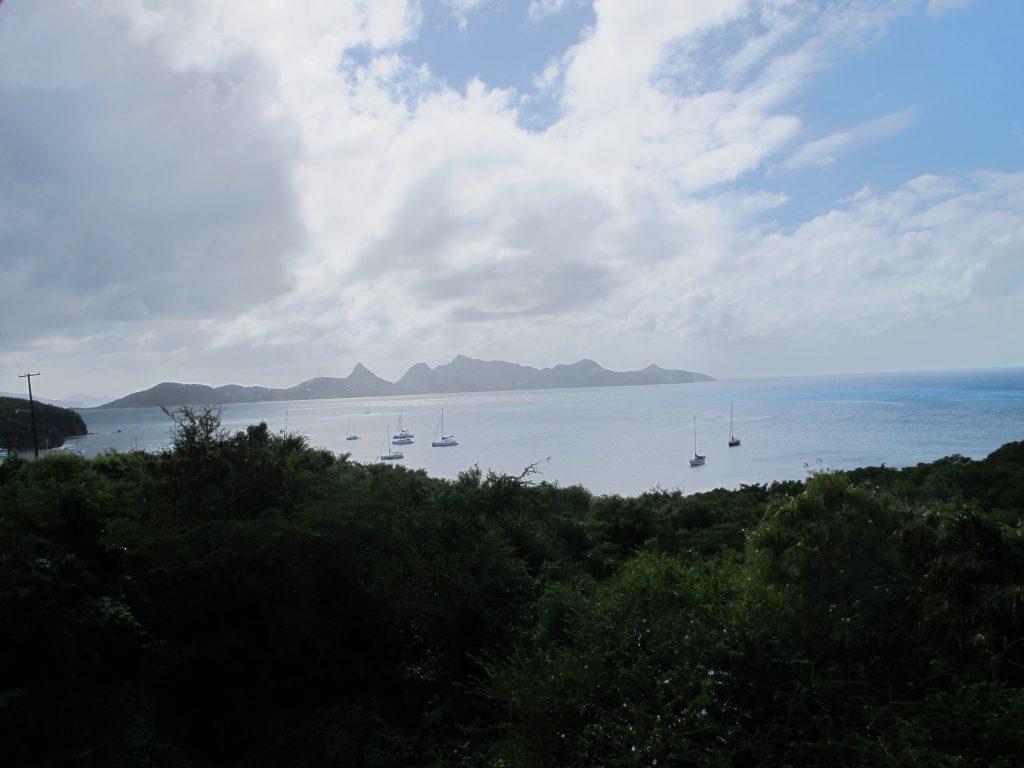 Utsikten fra restauranten.