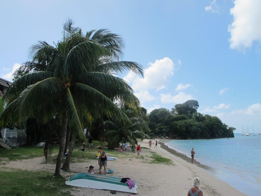 Stranden lengst mot sør i Ste. Anne. En idyllisk liten plass.
