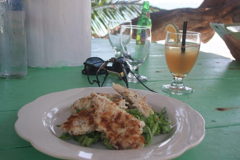 Maten var helt utsøkt. Og vi koste oss med deilig mat, drikke og oppmerksomme kelnere.