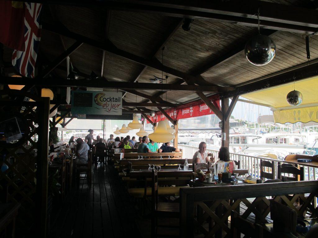 Kjempefin restaurant.