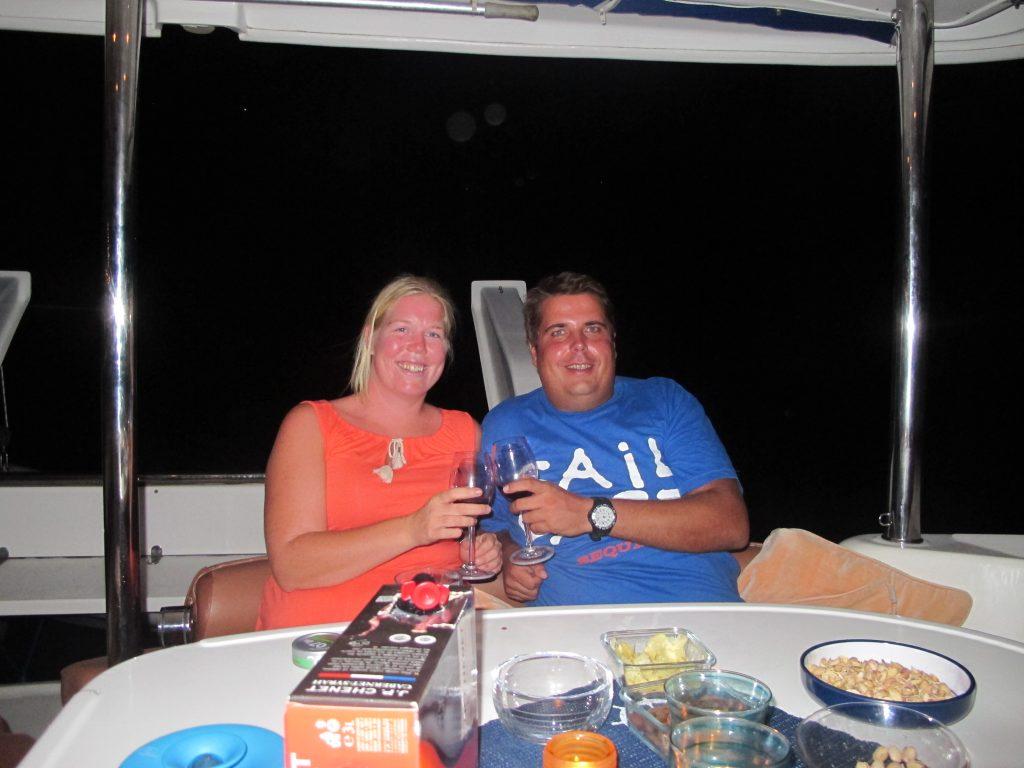 Vi hadde en veldig hyggelig kveld sammen med Even og Anne. Kanskje ser vi dem igjen på vår vei nordover.