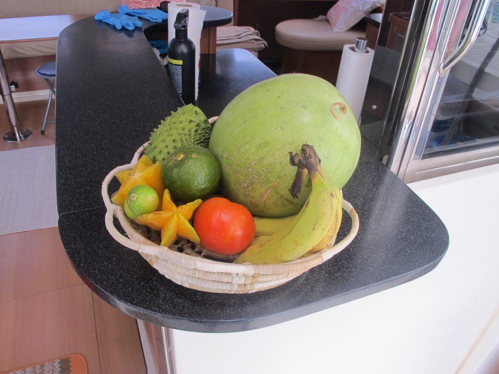 Masse herlig frukt som skal nytes.